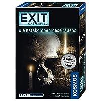 KOSMOS-Spiele-694289-EXIT-Das-Spiel-Die-Katakomben-des-Grauens-2-teiliges-Spiel