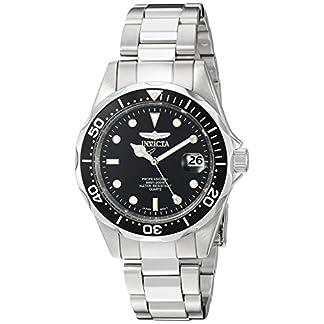 Invicta-8932-Pro-Diver-Unisex-Uhr-Edelstahl-Quarz-schwarzen-Zifferblat