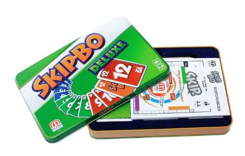 Mattel-L3671-Skip-Bo-Deluxe-Kartenspiel