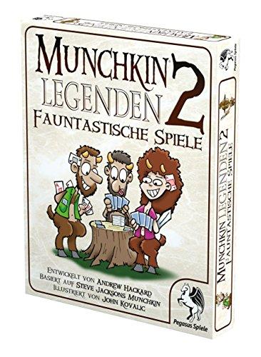 Pegasus-Spiele-17237G-Munchkin-Legenden-2-Fauntastische-Spiele
