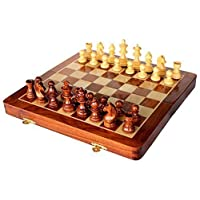 StonKraft-handgefertigtes-hochwertiges-Holz-Schachspiel-41-x-41-cm-magnetische-Schachkassette-aus-Rosenholz