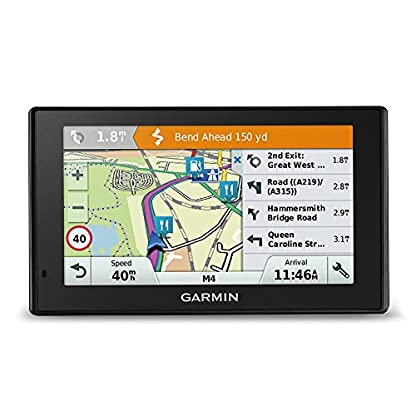 Garmin-DriveAssist-51-LMT-S-EU-Navigationsgert-5-Zoll-127-cm-Multitouch-Glasdisplay-lebenslang-Kartenupdates-Verkehrsinfos-kameragesttzte-Fahrerhinweise-Smart-Notifications