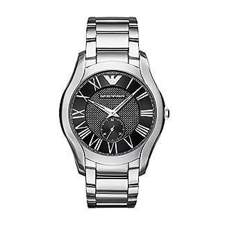 Emporio-Armani-Herren-Analog-Automatik-Uhr-mit-Edelstahl-Armband-AR11086