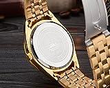 Luxurise-Herren-Quarz-Armbanduhr-Sportuhr-wasserdicht-Vollstahl-Gold-Uhren