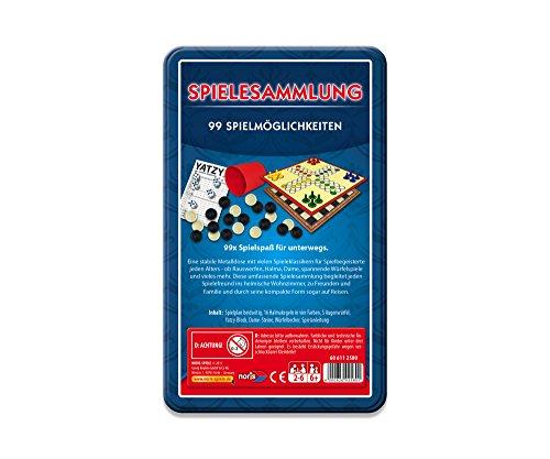 Noris-Spiele-606112580-99-iger-Spielesammlung-in-Metallbox