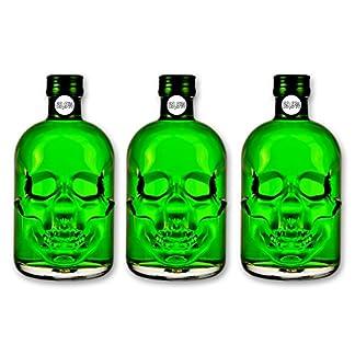 3x-Amnesie-Absinthe-05l-699-alc-Vol-Totenkopfflasche-Green-Head-Absinthe