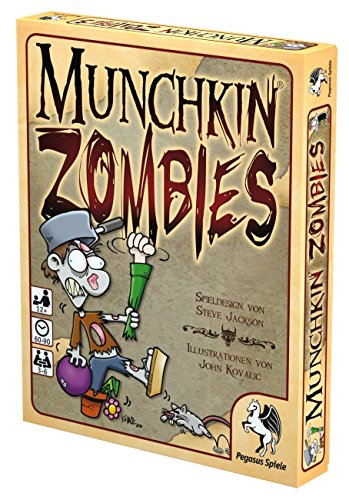 Pegasus-Spiele-17135G-Munchkin-Zombies