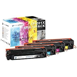 4-Schneider-Printware-Toner-50-hhere-Reichweite-kompatibel-zu-HP-201X-fr-HP-Color-LaserJet-Pro-200-M252n-Pro-M252dw-Pro-MFP-M277dw-Pro-MFP-M277n-Pro-MFP-M274n-CF400X-CF401X-CF402X-CF403X