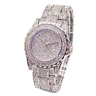Armbanduhr-unisex-Liusdh-Uhren-Gypsophila-Diamond-uhren-Deluxe-Quarz-Strass-Edelstahl-Haken-Schnalle-Acryl-uhr