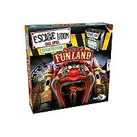 Noris-Spiele-606101618-Escape-Room-Erweiterung-Welcome-to-Funland-Nur-Mit-Chrono-Decoder-spielbar-Strategiespiel