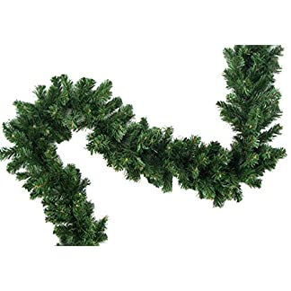 XL-knstliche-Tannengirlande-Weihnachtsgirlande-Girlande-Tanne-Grn-Deko-Weihnachten-ca-200-cm