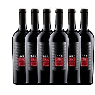 6er-Paket-TANK-No-26-Appassimento-Nero-dAvola-IGT-2017-Cantine-Minini-trockener-Rotwein-italienischer-Rotwein-aus-Sizilien-6-x-075-Liter