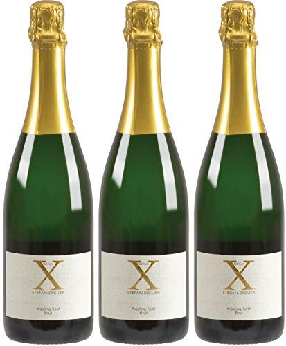 Stefan-Breuer-Edition-X-Riesling-Sekt-Brut-herb-3-x-075-l