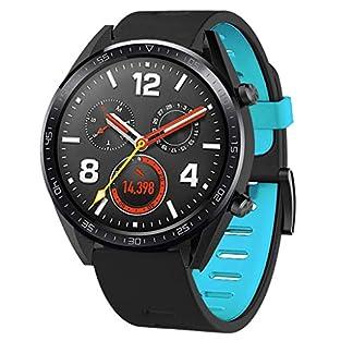 Fr-Huawei-Watch-GT-Armband-MuSheng-Mode-Silikon-Ersatzband-Damen-Herren-uhrenarmband-Sport-Bracelet-Band-Armband-Strap-Wrist-Band-fr-Huawei-Watch-GT