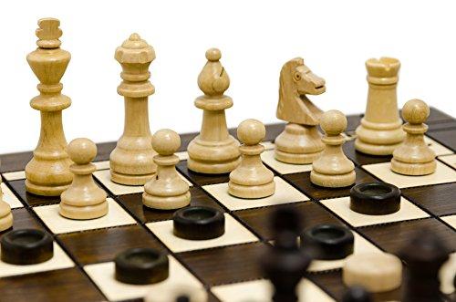 Master-of-Chess-3in1-groe-40cm-16in-3-Spiele-in-1-Holz-Schach-Backgammon-und-Dame-Entwrfe-Spiel-mit-Staunton-Figuren-handgefertigte-Classic-Game