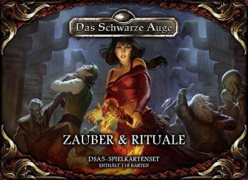 DSA5-Spielkartenset-Zauber-Rituale-Das-Schwarze-Auge-Regelwerke