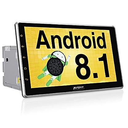 Pumpkin-Android-81-Autoradio-Moniceiver-mit-GPS-Navi-101-Zoll-Bildschirm-Untersttzt-Bluetooth-DAB-Android-Auto-WLAN-4G-USB-MicroSD-2-Din-Universal