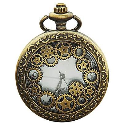 Livecity-Retro-Taschenuhr-Runde-Hohlgetriebe-antiker-Anhnger-arabische-Ziffern-Quarz-analoge-Mini-Uhr
