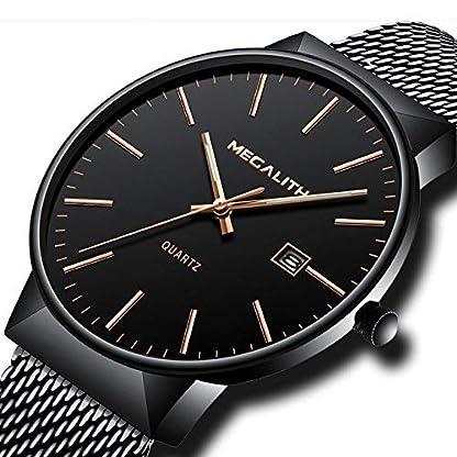 Herren-Uhren-Mnner-Luxus-30M-Wasserdicht-Datum-Kalender-Einfach-Design-Analog-Quarz-Armbanduhr-Geschft-Beilufig-Mode-Kleid-Schwarz-Edelstahl-Mesh-Armband-Uhr-mit-Rosgold-Zeitmarke