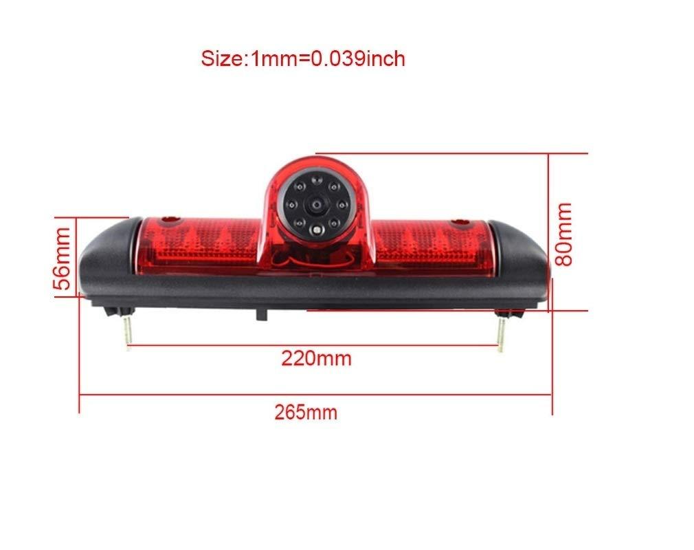 Misayaee-Auto-Dritte-Dach-Top-Mount-Bremsleuchte-Kamera-Bremslicht-Rckfahrkamera-fr-Jumper-III-DUCATO-X250-Boxer-III-43-Zoll-DVD-Monitor-TFT-Bildschirm-LKW-KFZ-LCD-Display
