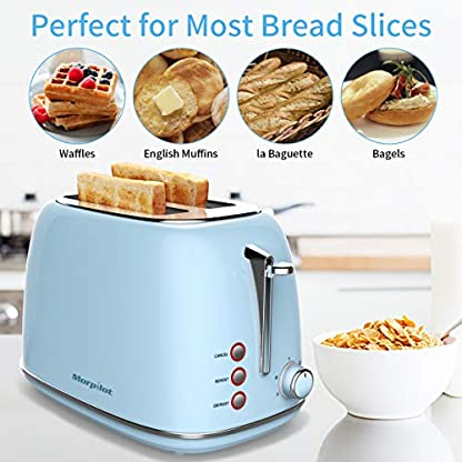Toaster-4-Scheiben-Morpilot-Edelstahl-Toaster-1600-Watt-mit-15-breiten-Schlitzen-6-brunungsstufen-und-3-Moden-Auftau-Aufwrm-sowie-Abschaltungsmode