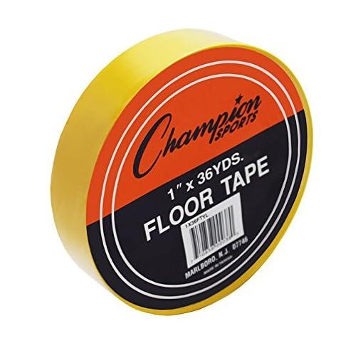 Champion-Sports-CHS1X36FTYL-Bodenmarkierungsband-Gelb