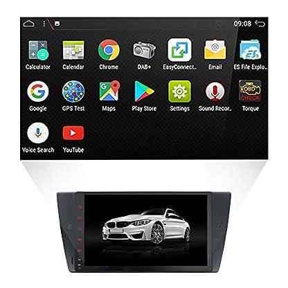 YUNTX-Autoradio-Audio-mit-GPS-Navigationssystem-fr-BMW-E90-Autoradio-mit-Android-719-Zoll-719-Zoll-Multi-Touch-kapazitiver-Bildschirm-mit-gratis-Kamera
