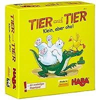 Haba-4911-Tier-auf-Tier-Klein-aber-oho
