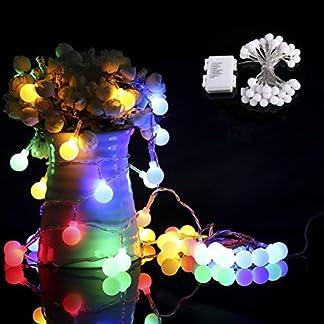 40er-Klein-Ball-LED-Lichterketten-Batterie-Betrieb-Lichterkette-IP65-wasserdicht-fr-PartyWeihnachten-Halloween-Hochzeit-Beleuchtung-Deko