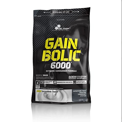 Olimp Gain Bolic 6000 Vanille, 1er Pack (1 x 1 kg)