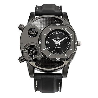 Adamoka-Herren-Uhren-Analog-Quarz-Mit-Edelstahl-Armbanduhr-Lssige-Mode-Luxus-Elegantes-Design-Armbanduhren