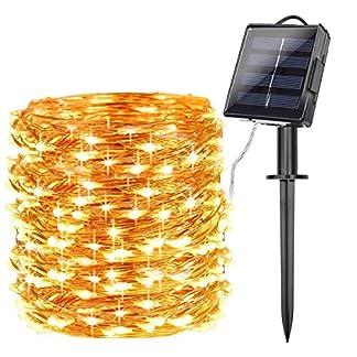 Tobbiheim-LED-Lichterkette-mit-Solar-Panel-und-Batteriekasten-22-Meter-200-LEDs-Kupferdraht-IP65-Wasserdicht-Auen-Lichterkette-fr-Weihnachtsbaum-Party-DIY-Deko-Warmwei