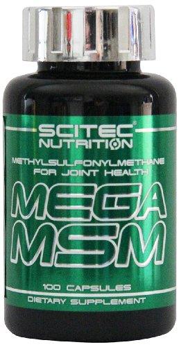 Scitec Nutrition Mega MSM, 100 Kapseln