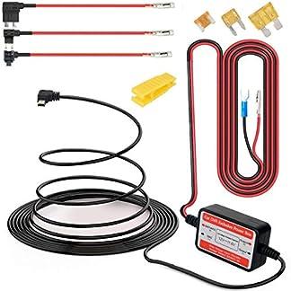 Gebildet-Dash-Cam-Hardwire-Kit-Mini-USB-12V-24V-bis-5V-Niederspannungsschutz-ACNACSACU-Fgen-Sie-einen-Sicherungshalter-fr-die-Schaltung-hinzu