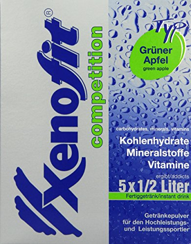 Xenofit Kohlenhydrat-Getränk competition, Grüner Apfel, 5 x 42g