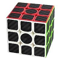 Zauberwrfel-3x3x3-Coolzon-Speed-Cube-Wrfel-Carbon-Faser-Aufkleber-Neue-Geschwindigkeits-Super-Schnell-und-Glatt
