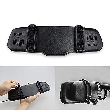 AutoVox-T1400W-Wireless-Rckfahrkamera-Set-Kabellose-Einparkhilfsystem-Rckspiegel-Monitor-mit-Backup-Kamera-Kit-FunksenderIP68-Wasserdicht-LED-Super-Nachtsicht-Rckfahrkamera-FHD-Monitor