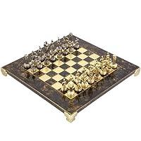 Griechisch-Roman-Armee-Metall-Schachspiel