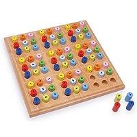 Brettspiel-SUDOKU-Spiel-Holzspiel-Holzbrettspiel-Holz-Sudoku-Holz-NEU-2489-OVP