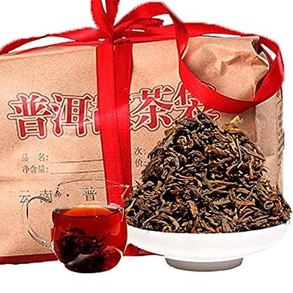 Bestnote-Chinese-Yunnan-Puer-Tee-500g-11LB-reif-Puer-Tee-Schwarzer-Tee-Chinesischer-Tee-Pu-er-Tee-Reifer-Tee-Puerh-Tee-gesundes-Essen-Pu-Erh-Tee-Pu-Erh-Tee-gekochter-Tee-Roter-Tee