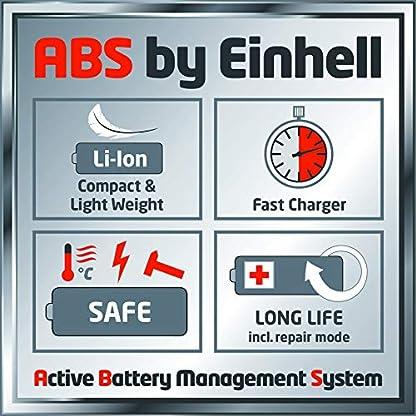 Einhell-Akku-Rasentrimmer-GE-CT-18-Li-Set-Power-X-Change-Lithium-Ionen-18-V-24-cm-Schnittbreite-teleskopierbar-inkl-20-Ah-Akku-und-Ladegert