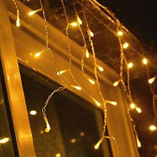 HJ-200er-LED-Lichterkette-Eisregen-warm-weiss-innen-und-auen-Wasserdicht-Weihnachten-Lichterketten-10m