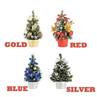 Junjie-Knstliche-Tischplatte-Mini-Weihnachtsbaumschmuck-Festival-Weihnachtsschmuck-Miniatur-Baum-20cm-Gold-Rot
