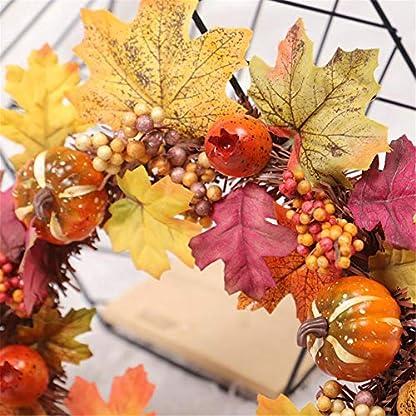 feiledi-Trade-Fallen-Sie-Haustr-Kranz-Krbis-Pine-Cone-Maple-Leaf-Kranz-Halloween-Thanksgiving-Weihnachten-Lieferungen
