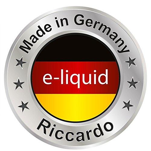 Riccardo Basisliquid Advanced, 55 % PG / 35 % VG / 10 % H2O, 99,5 % Ph. Eur, 100 ml, Basis Liquid 0,0 mg Nikotin