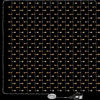 VOLTRONIC-LED-Lichtervorhang-Lichterkette-fr-innen-und-auen-Grenwahl-3x3m-300LED-3x6m-600LED-Farbwahl-warmweikaltweibunt-GS-geprft-IP44-8-Leuchtmodi-Outdoor