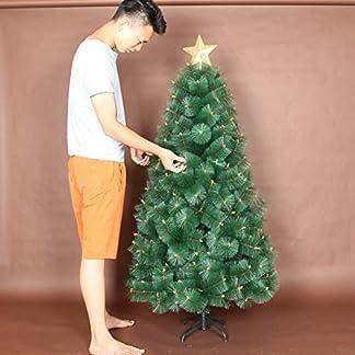 JRL-Weihnachtsbaum-Knstliche-Premium-Scharnier-Fichte-Vollen-Baum-Sapin-De-Noel-Bois-Mit-Vollmetall-Stand-Perfekt-Fr-Anderen-Besonderen-Anlssen