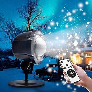 LED-Projektor-Zenoplige-Schneeflocke-Projektionslampe-Lampe-Licht-Romantische-Dekoration-mit-Fernbedienung-Wasserdicht-Schneefall-Lichteffekt-fr-Weihnachten-Party-Festival-Innen-Auen