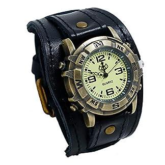 anolog-armbanduhr-for-herren-Mnner-Punk-Retro-Einfache-Mode-Dornschliee-Leder-Uhren