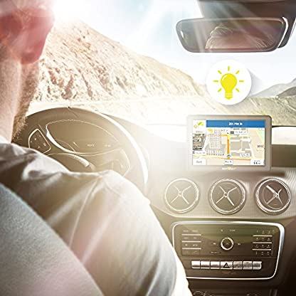 sunways-Navi-5-Zoll-Navigation-fr-Auto-Touchscreen-LKW-Navigationsgert-mit-Blitzerwarnung-Sprachfhrung-Fahrspurassistent-mit-EU-UK-52-Karten-2019-Ausfhrung-Lebenslang-EU-Karten